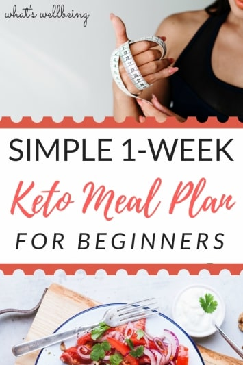 1-week keto meal plan for beginners