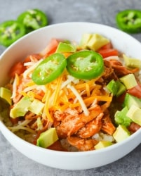 keto-chicken-enchilada-bowl
