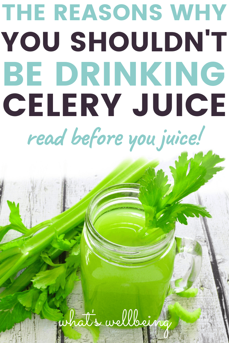 Celery Juice: The Magic Elixir or Just a Scam? - What's Wellbeing