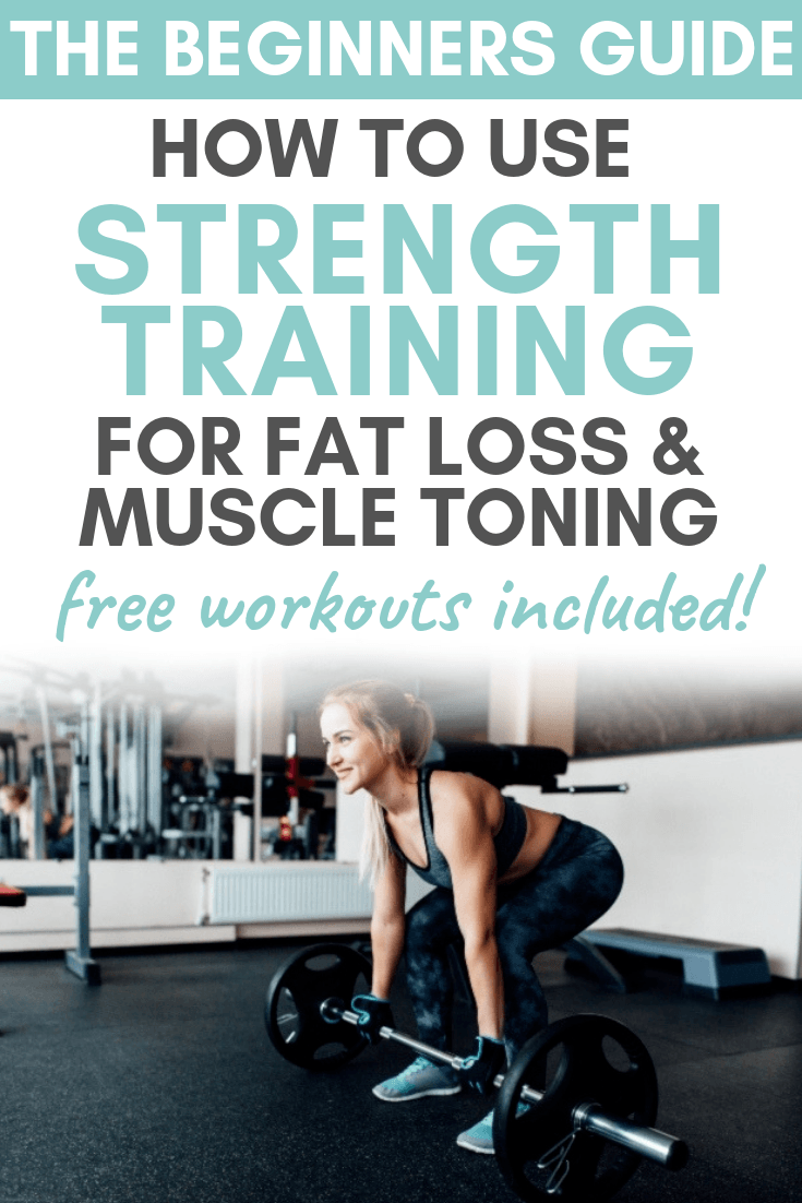 The Ultimate Beginners Guide to Strength Training for Weight Loss